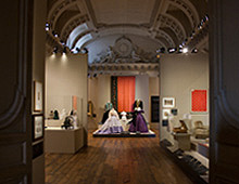 "Exposition ""FOLIE TEXTILE, MODE ET DECORATION SOUS LE SECOND EMPIRE"", PALAIS IMPERIAL DE COMPIEGNE – 2013"