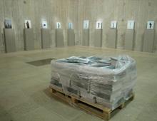 Exposition «JEAN-LUC MOULENE», MUSÉE DU LOUVRE – 2005