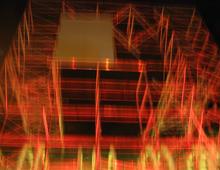 NUIT BLANCHE, CREATION D'UN ESPACE SCENIQUE POUR SPECTACLES VIVANTS, FORUM DES HALLES, PARIS – 2003