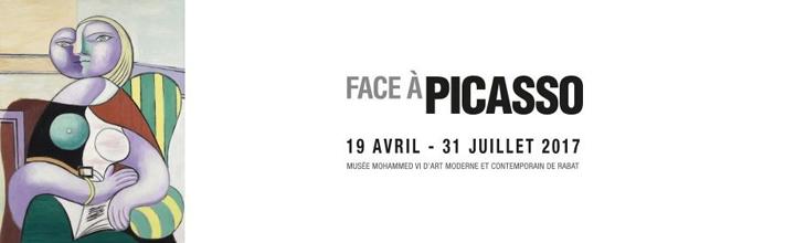 """""""FACE A PICASSO"""" du 19 avril au 31 juillet 2017 au Musée Mohammed VI de Rabat"""